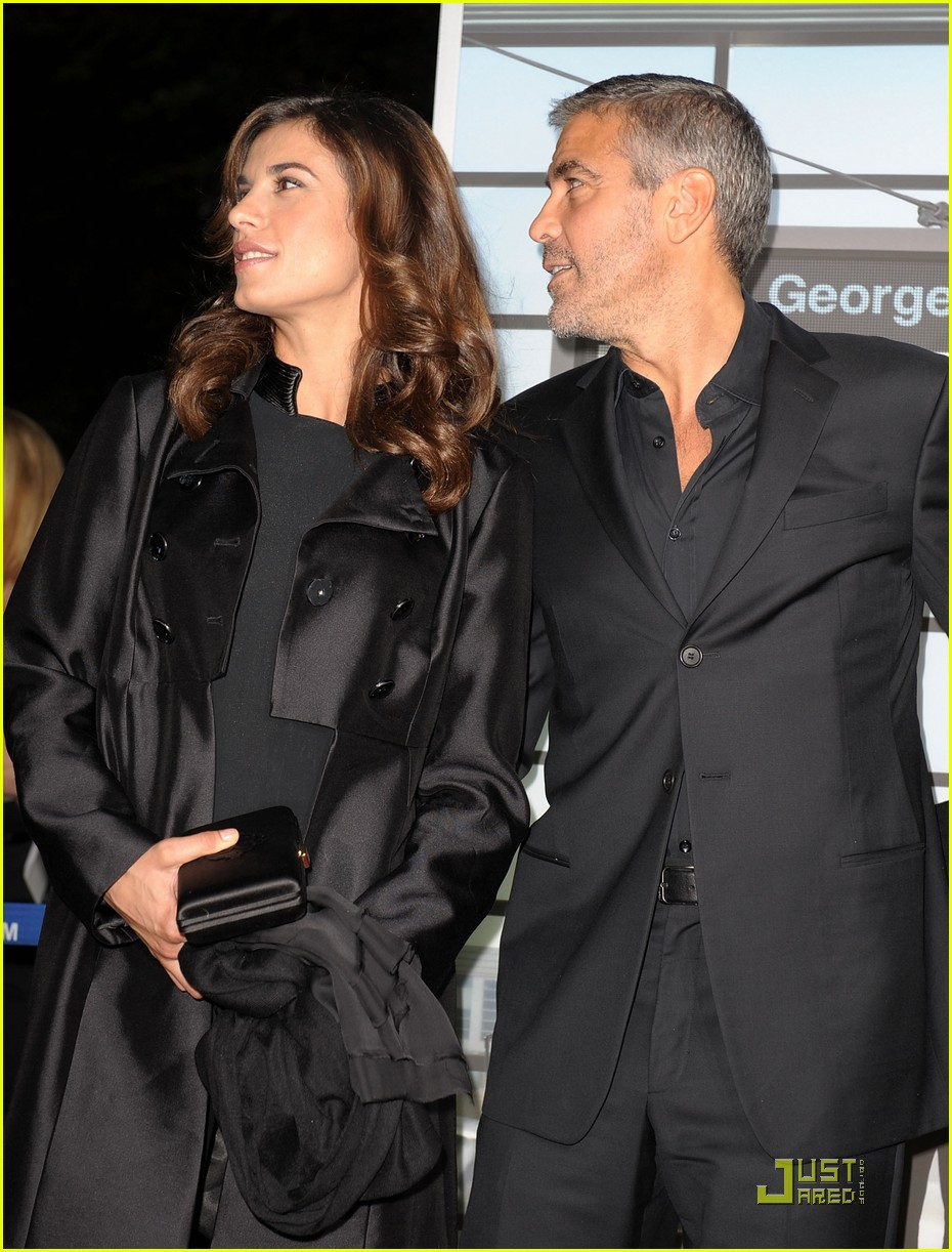 George Clooney & Elisabetta Canalis Are 'Up In The Air' Again