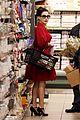 dita von teese gelsons grocery shopping 01