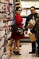 dita von teese gelsons grocery shopping 03