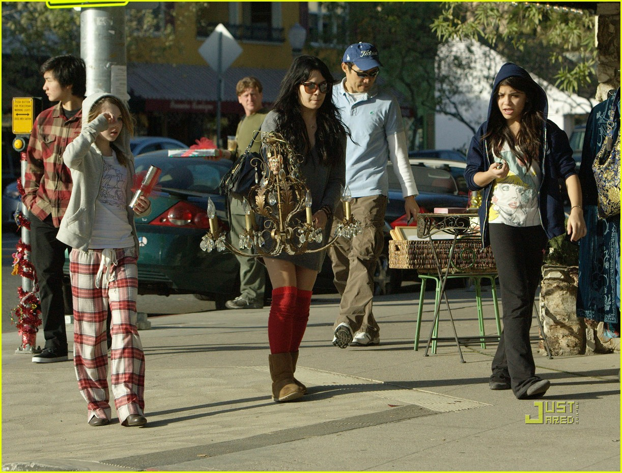 vanessa hudgens christmas eve wrapping paper 162404093