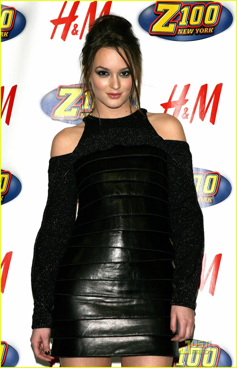 leighton meester jingle ball nyc 022401481