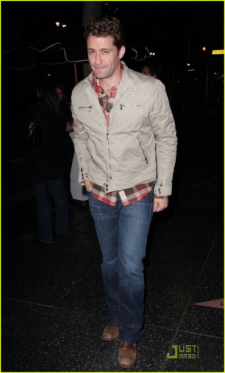 matthew morrison not gay 022403863