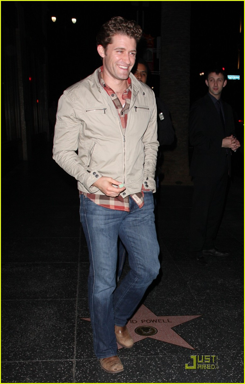 matthew morrison not gay 092403870