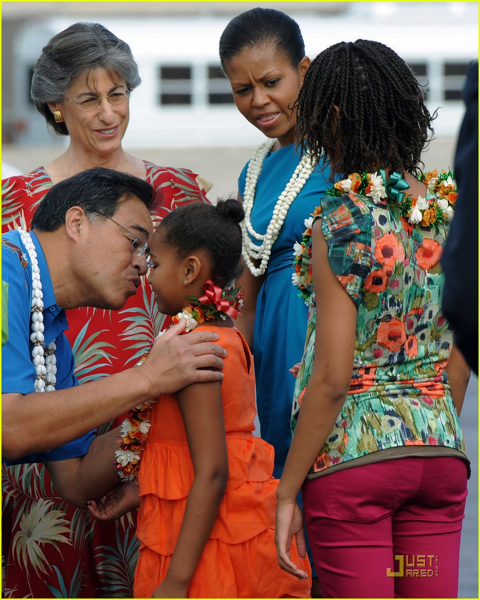 michelle obama hawaii 292404770