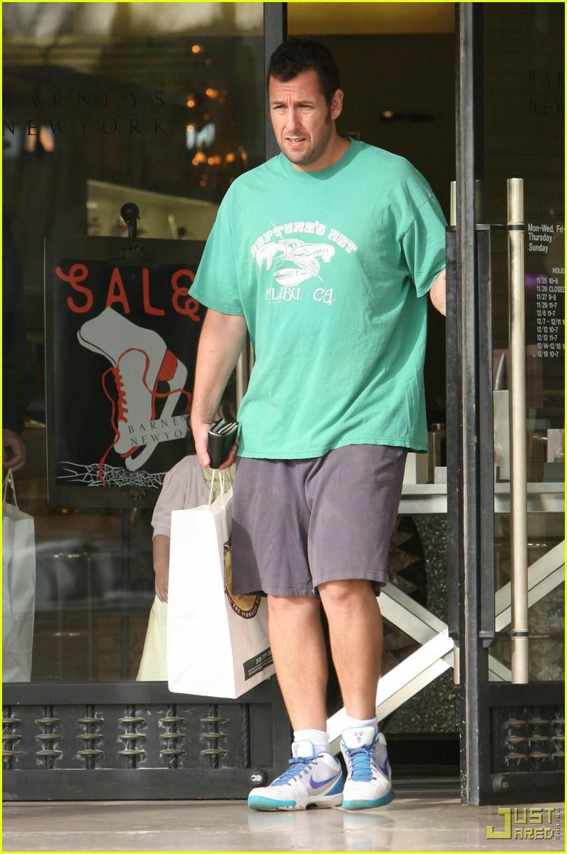 Adam Sandler & Sadie: Barney's Bunch | Adam Sandler, Celebrity Babies...