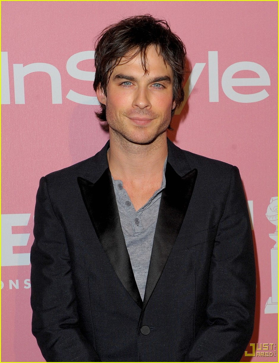 ian somerhalder golden globes party 052401385