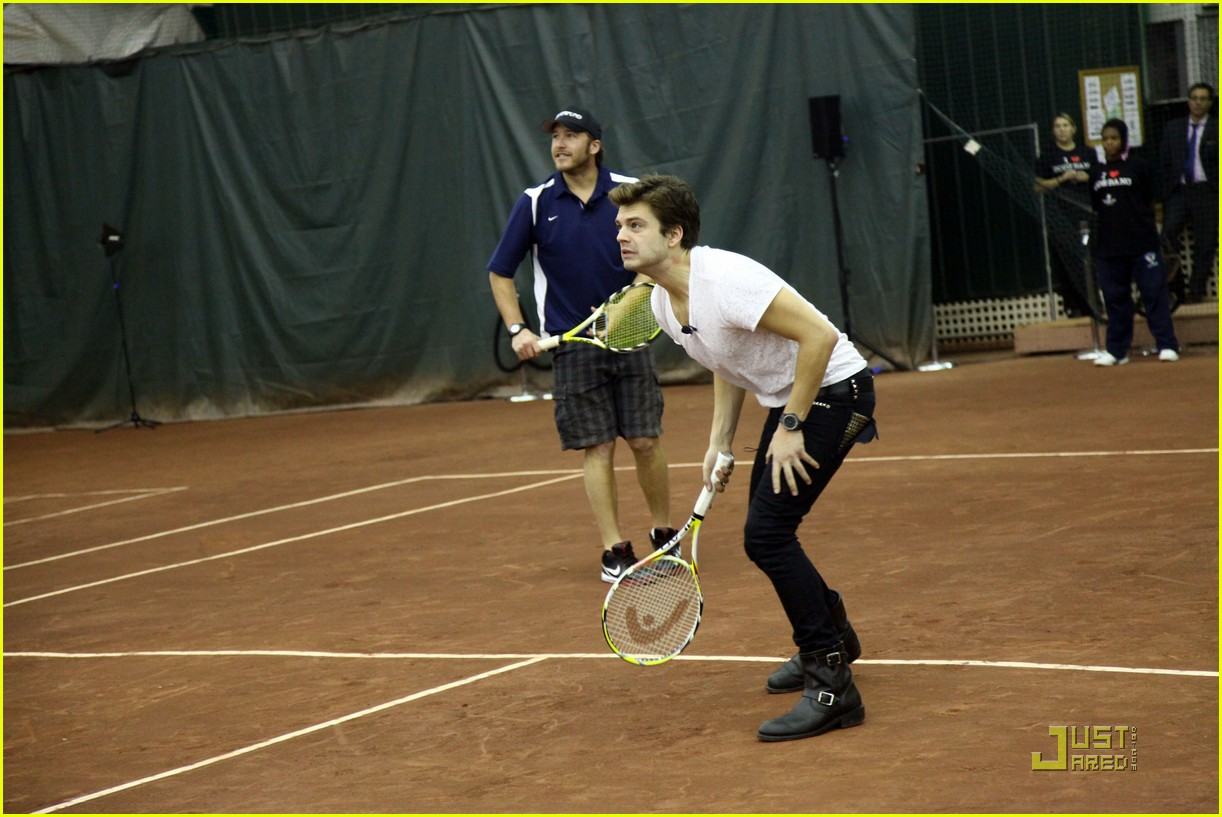 sebastian stan making racket 11
