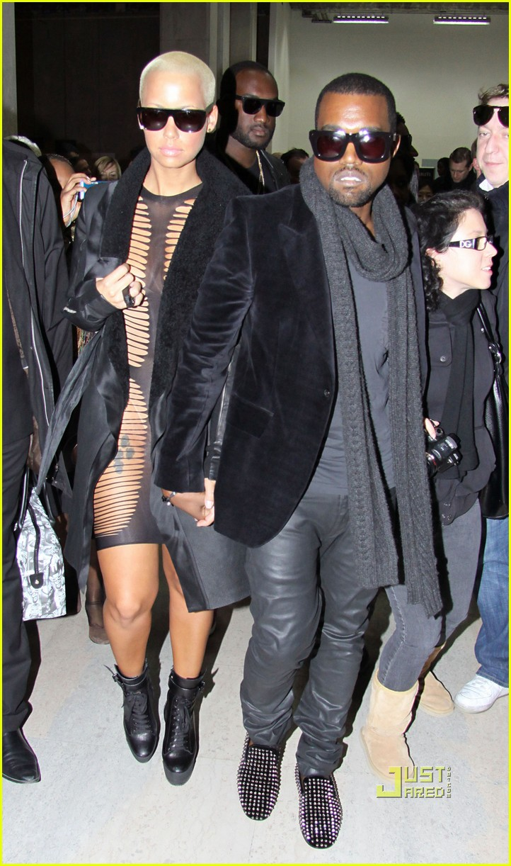 kanye west amber rose see through dress 04