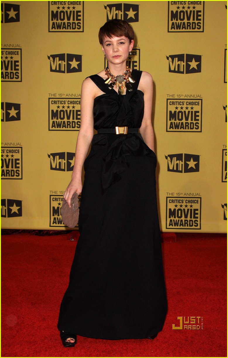 carey mulligan critics choice awards 122408730