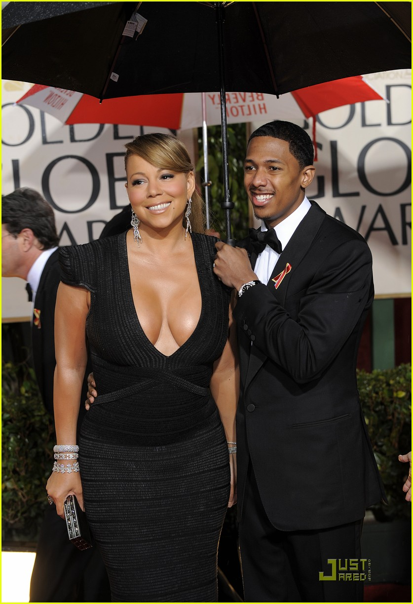 mariah carey 2010 golden globe awards red carpet 172409285