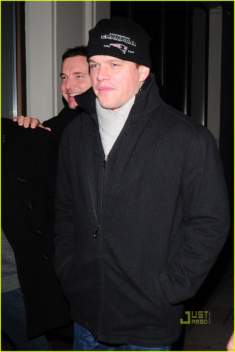 matt damon nobu london 032412526