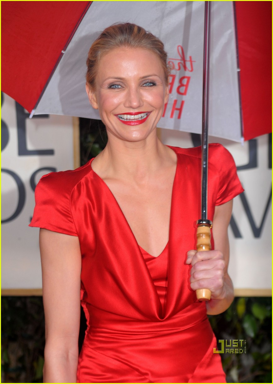 cameron diaz 2010 golden globes red carpet 012409209