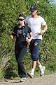 fergie josh duhamel canyon running couple 18