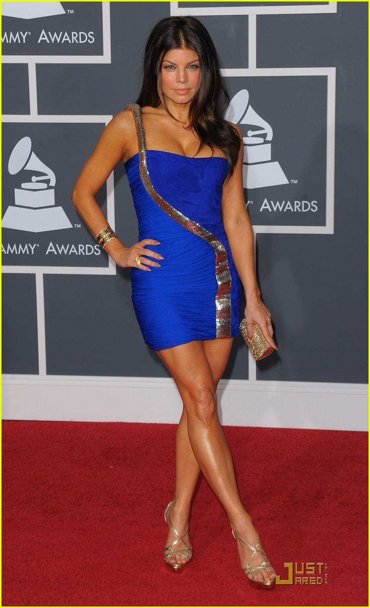 Fergie - Grammys 2010 Red Carpet: Photo 2413074 | 2010 Grammy Awards ...
