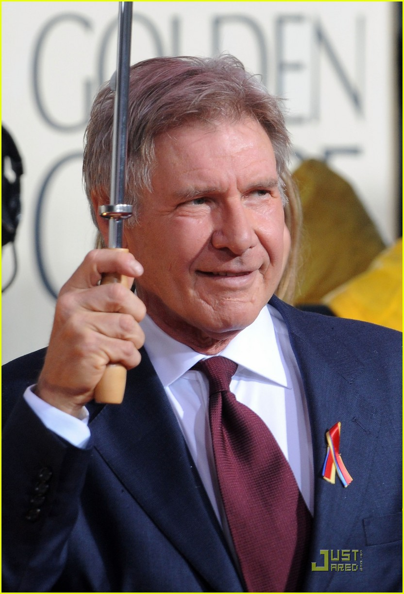 harrison ford flockhart golden globes 02