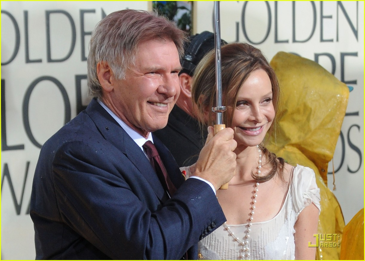 harrison ford flockhart golden globes 03