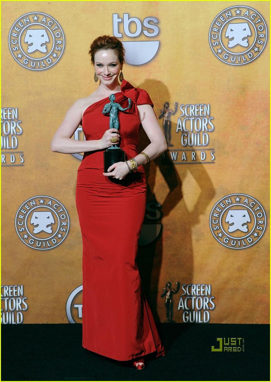 christina hendricks 2010 sag awards 03