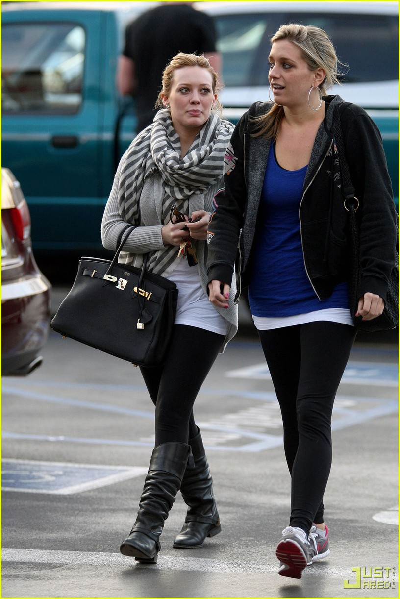 hilary duff lax airport ralphs 042406987