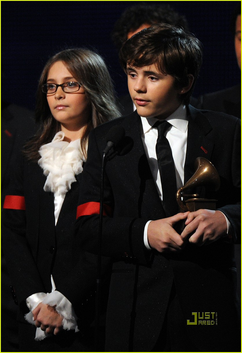 prince paris jackson 2010 grammy awards 022413202