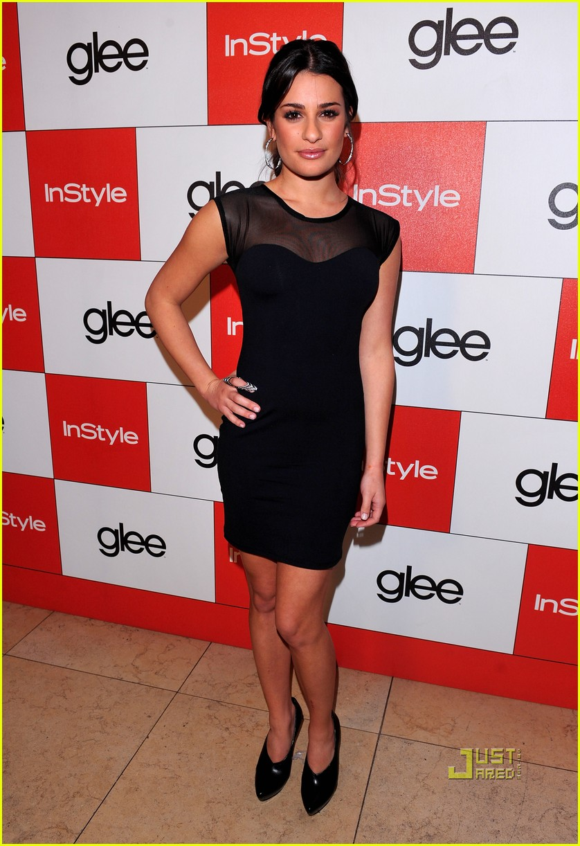 lea michele cory monteith glee picked up second season 072407444