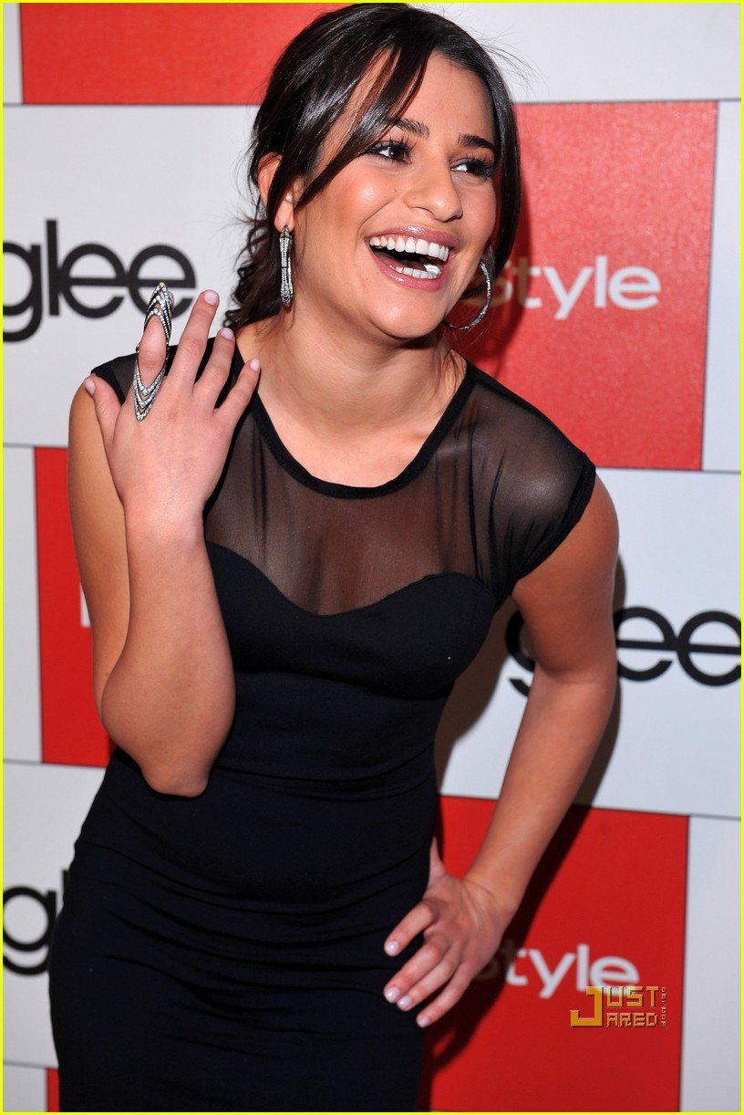 lea michele cory monteith glee picked up second season 09