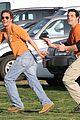matthew mcconaughey football levi mcconaughey plaid shirt peace 02