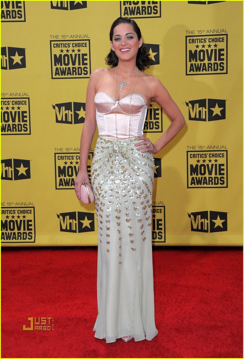 marion cotillard critics choice awards 2010 012408551
