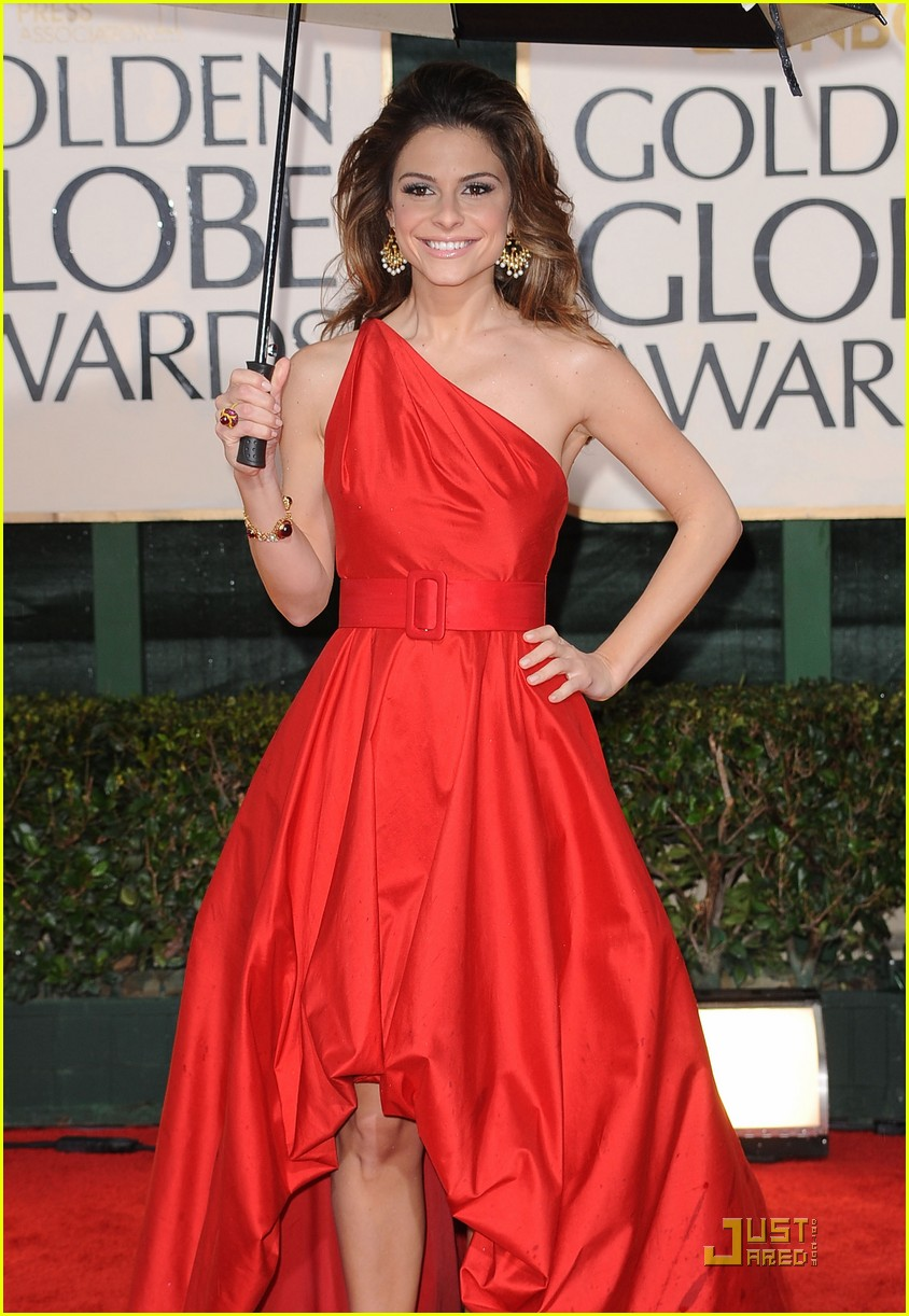 maria menounos golden globes 2010 01