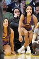 chris pine lakers game houston rockets laker girls 02