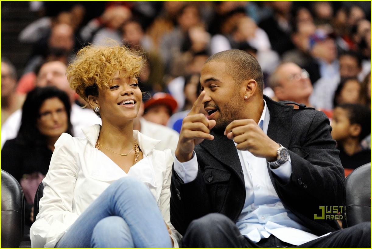 Rihanna Matt Kemp Clippers Couple Photo 2408897 Matt Kemp
