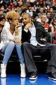 rihanna matt kemp clippers basketball game 02