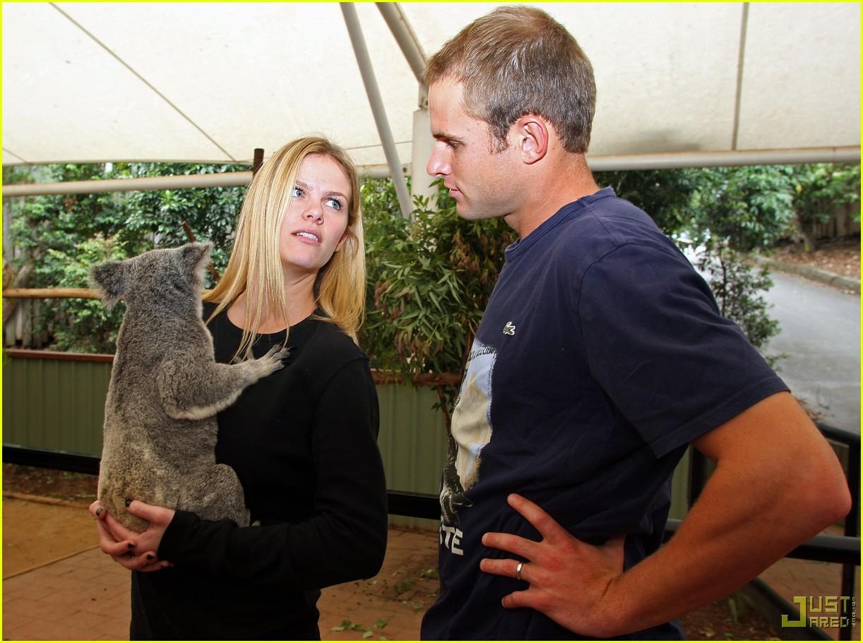 andy roddick brooklyn decker koala couple 022406159