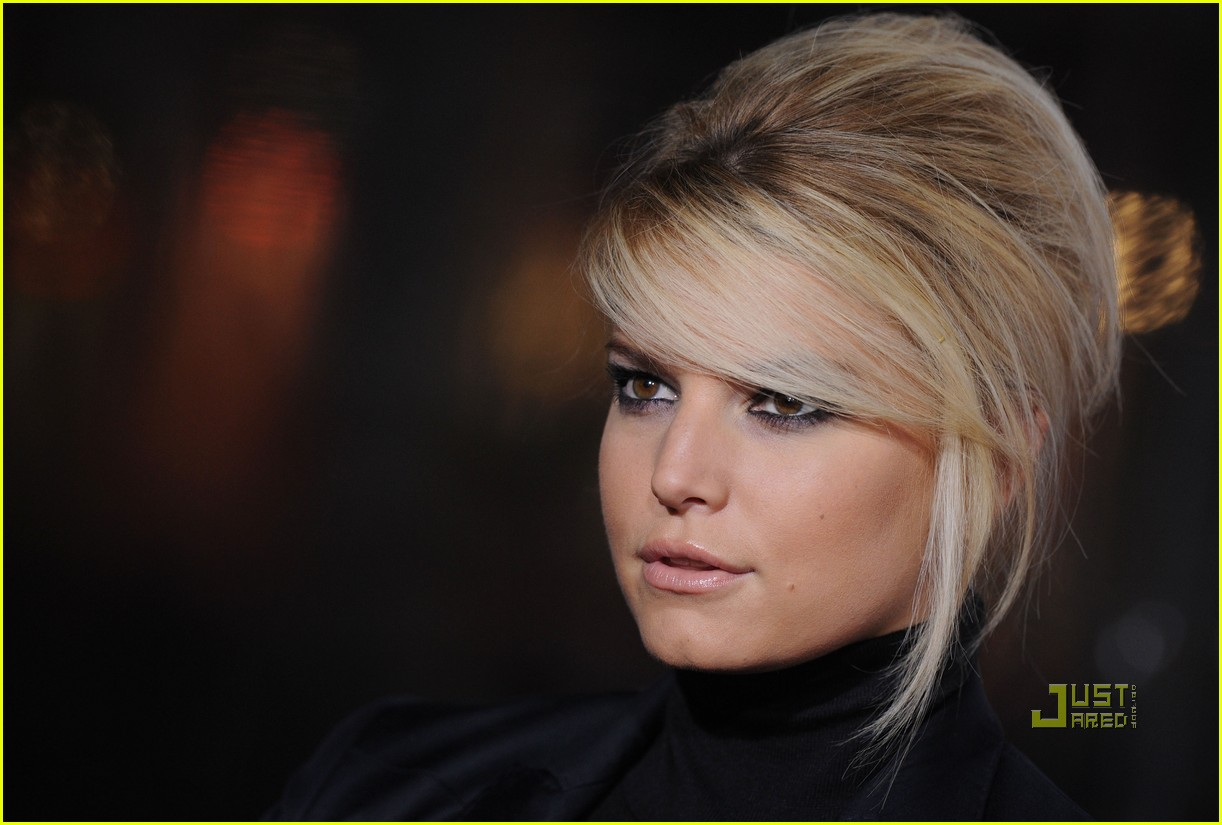 jessica simpson extraordinary measures premiere 07