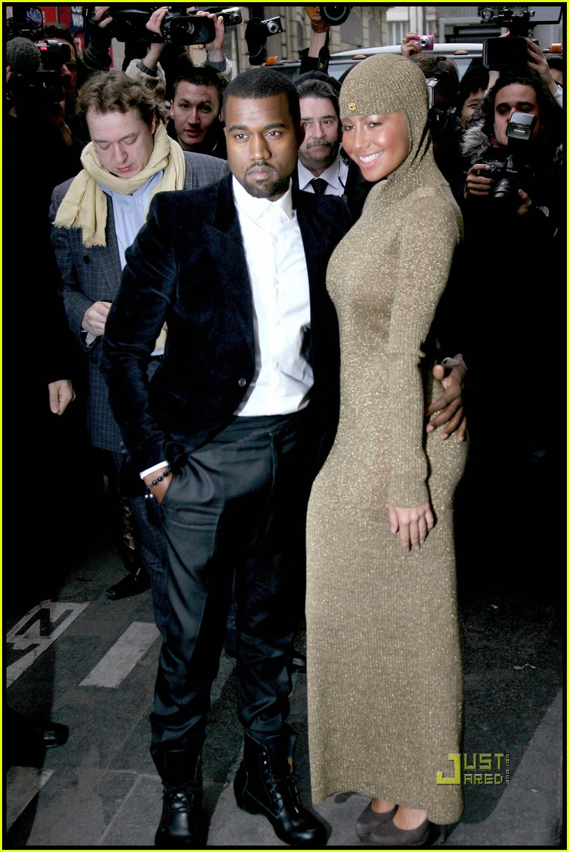 kanye west amber rose chanel haute couture 05