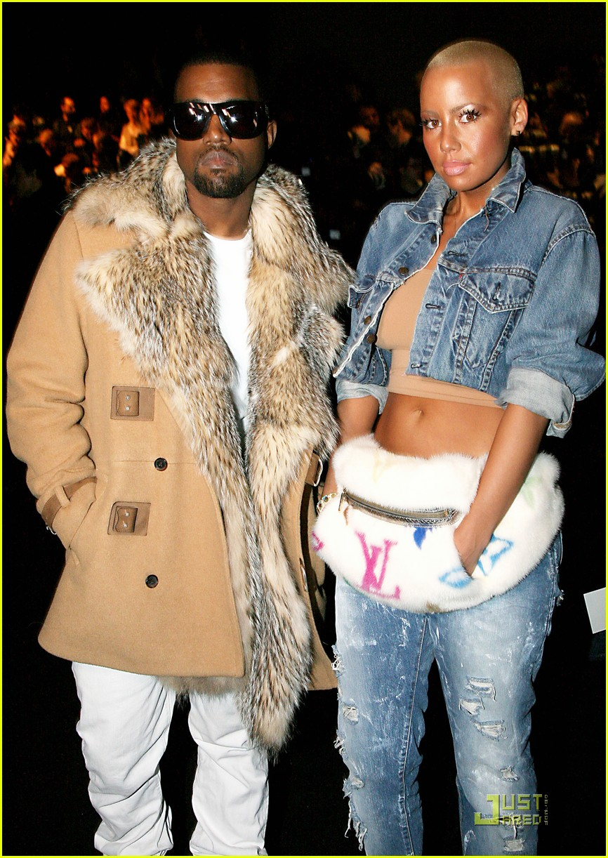kanye west amber rose fashion furballs 06