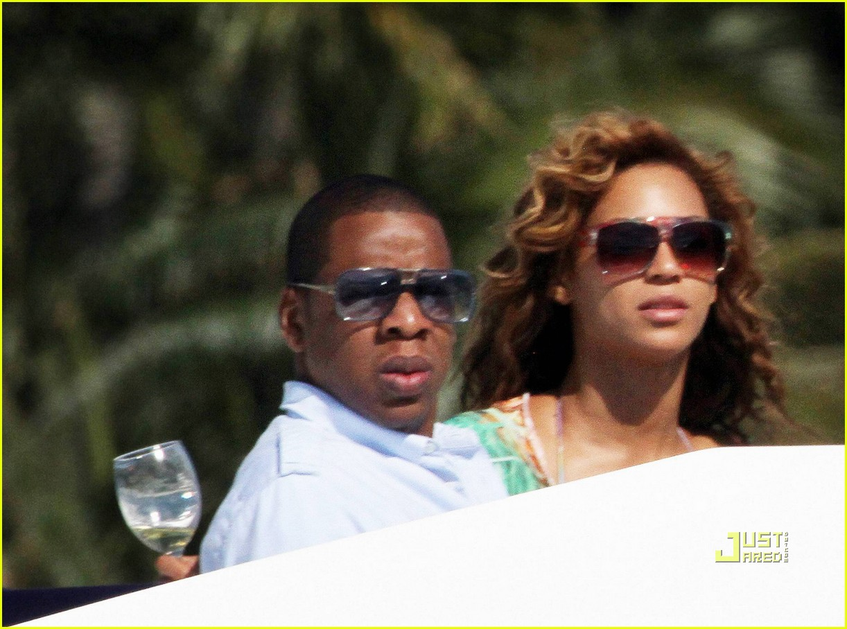 beyonce knowles jay z yacht lovers 03