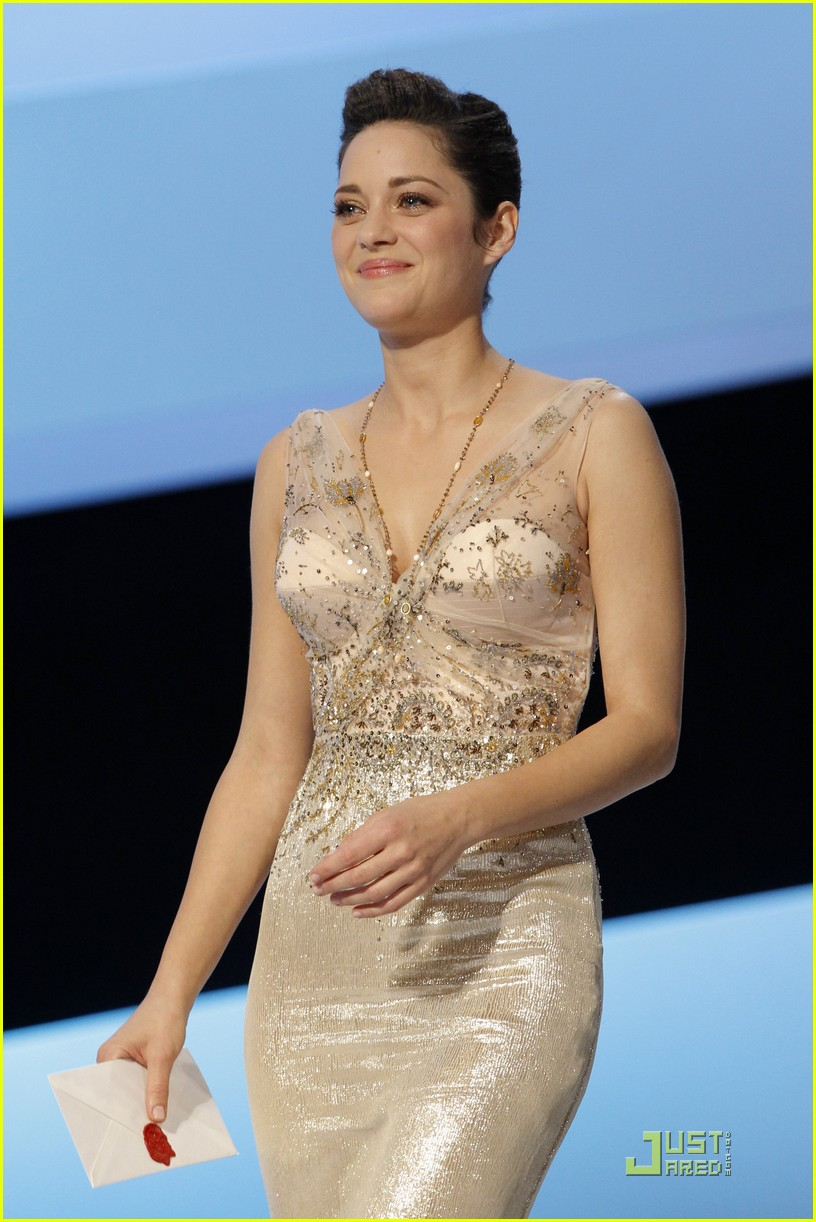 marion cotillard cesar film awards 2010 01