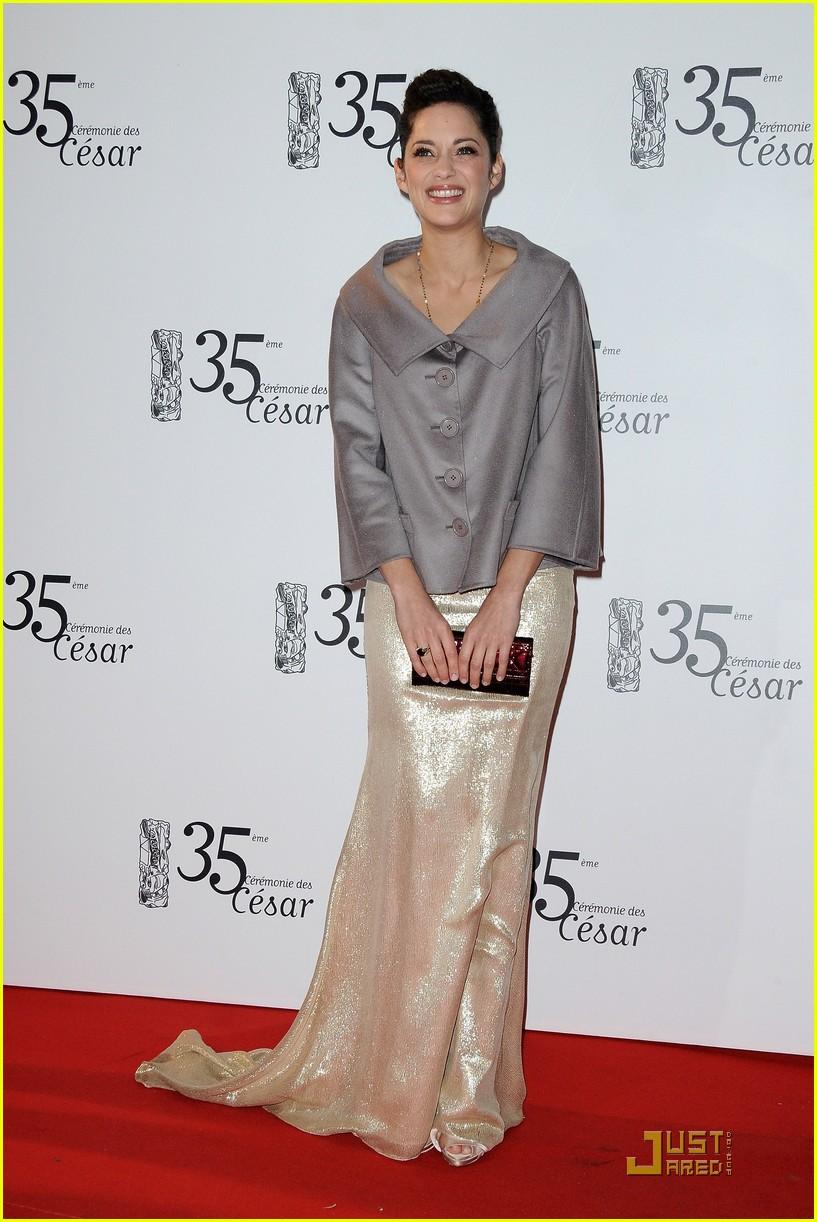 marion cotillard cesar film awards 2010 022430825