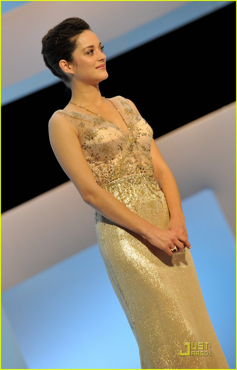 marion cotillard cesar film awards 2010 04