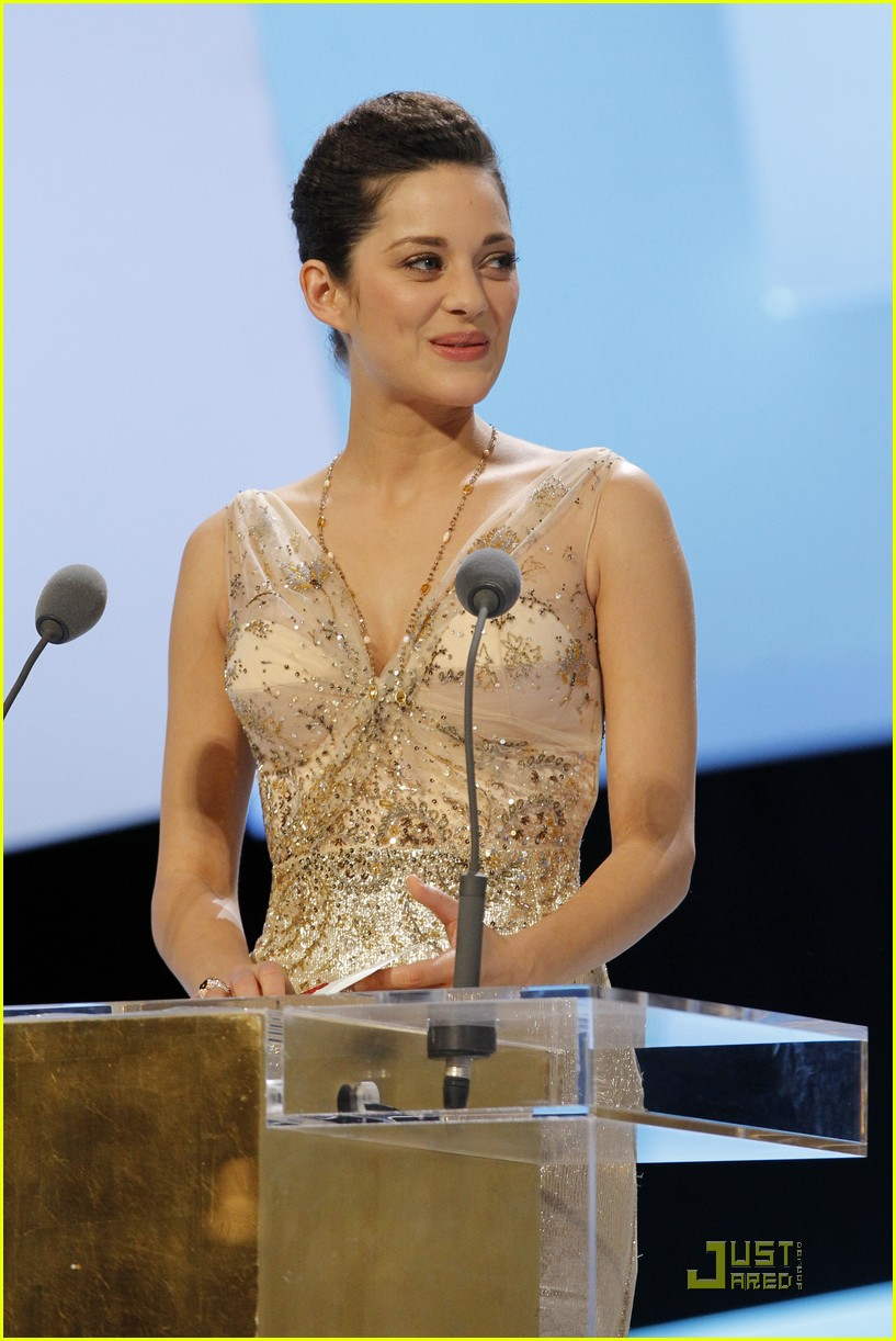 marion cotillard cesar film awards 2010 052430828