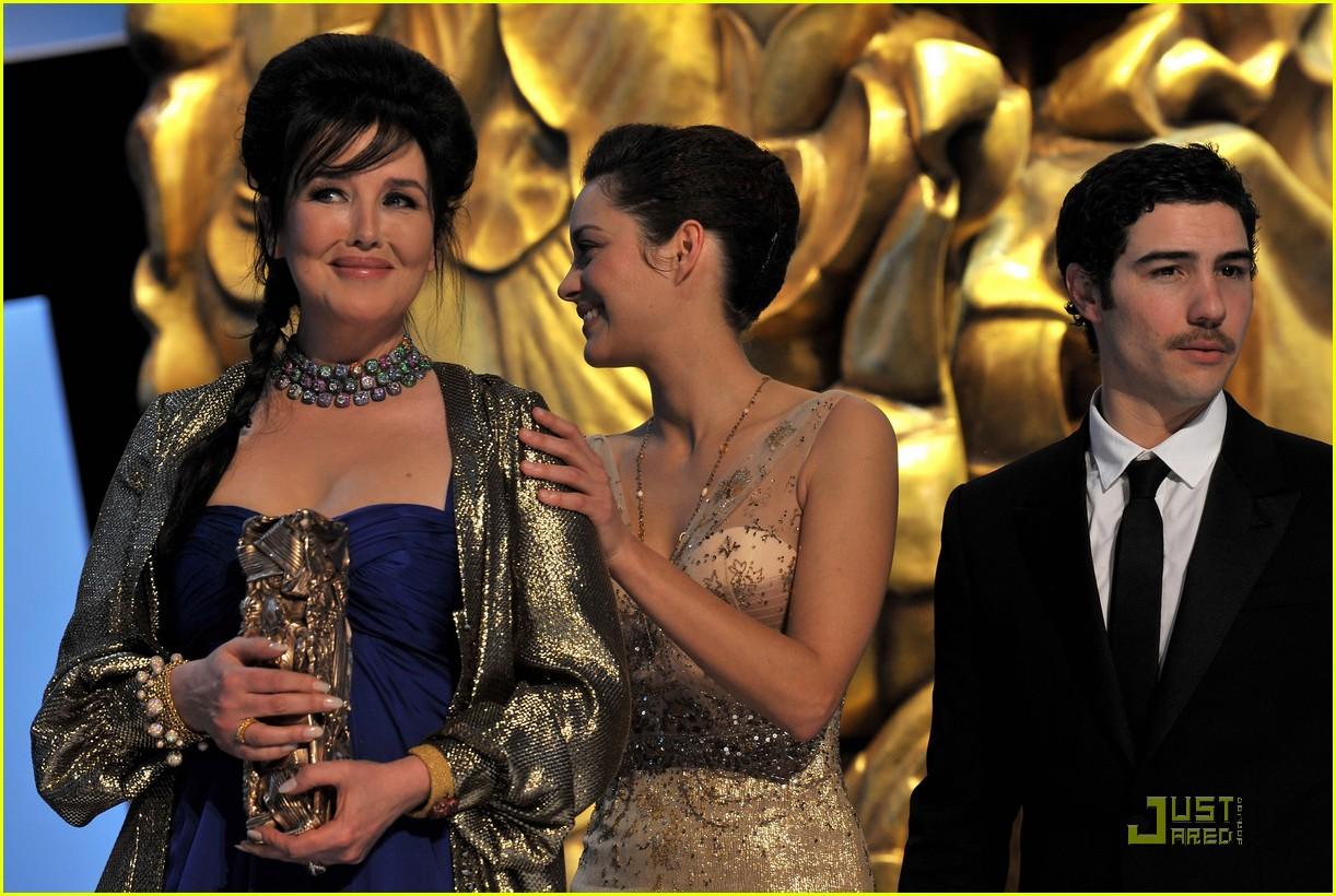 marion cotillard cesar film awards 2010 062430829