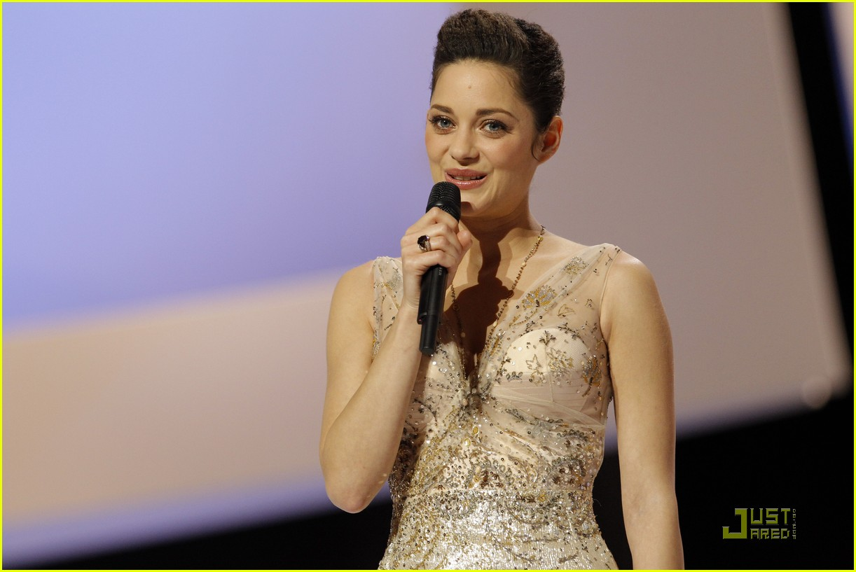 marion cotillard cesar film awards 2010 07