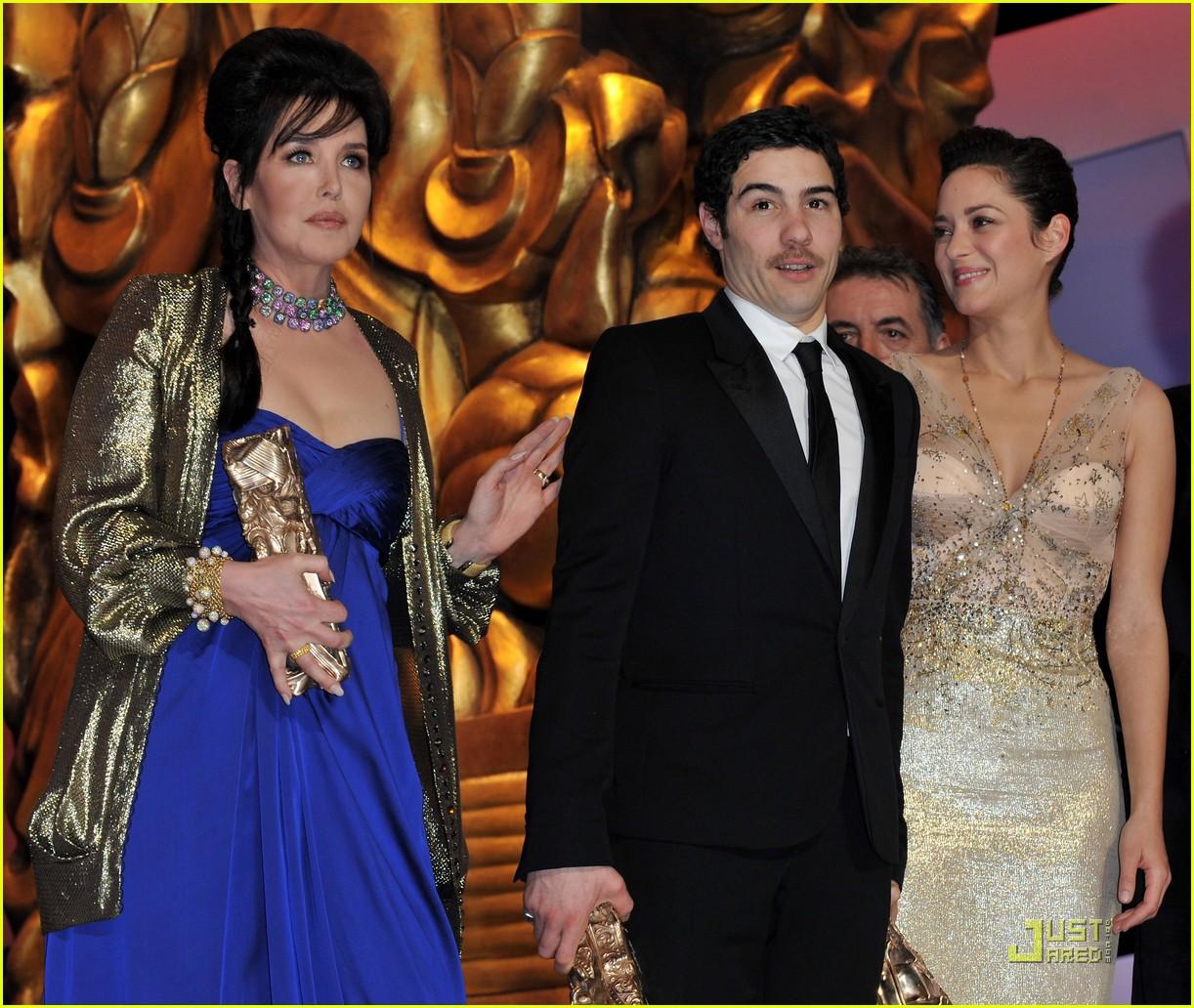 marion cotillard cesar film awards 2010 082430831
