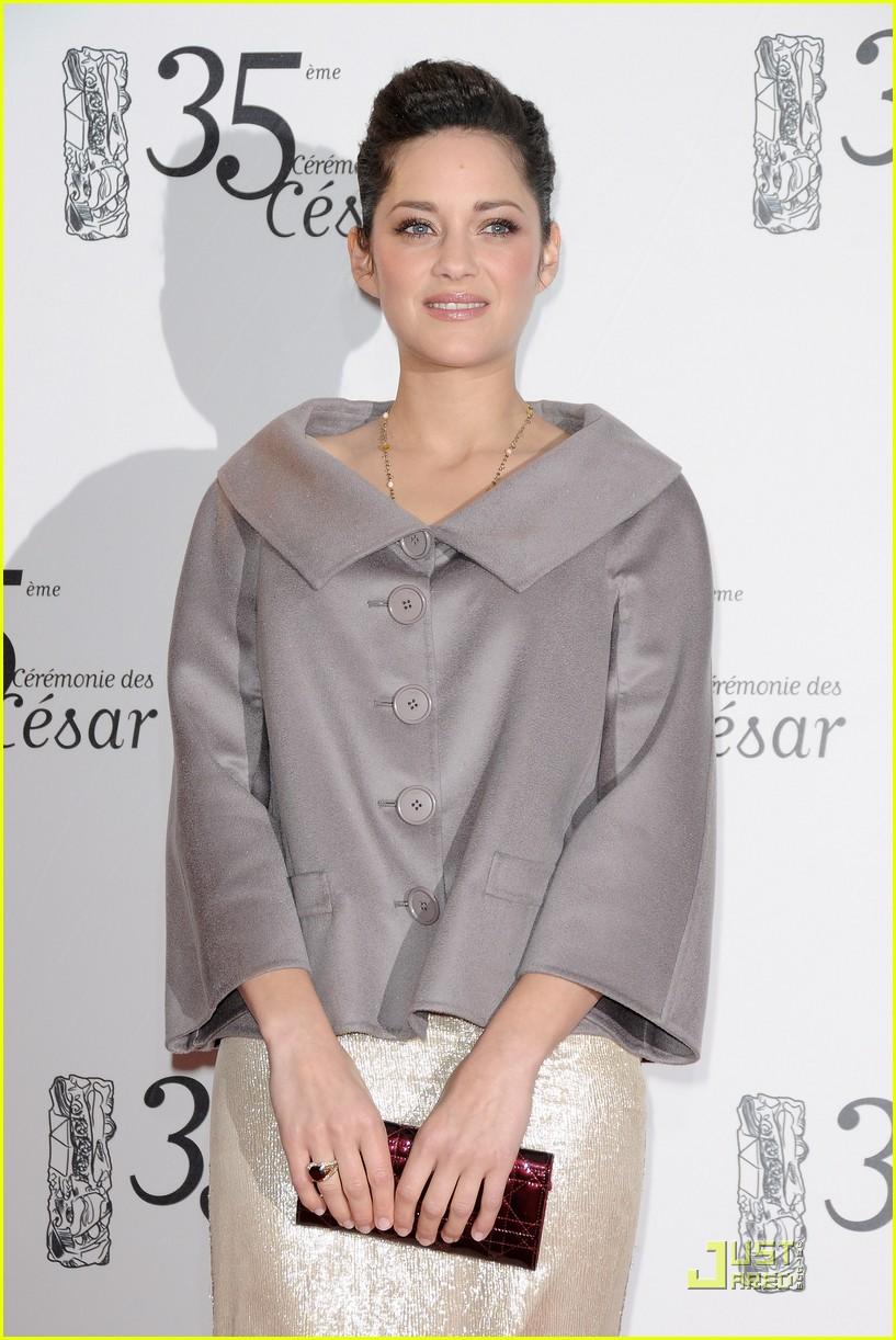 marion cotillard cesar film awards 2010 132430836