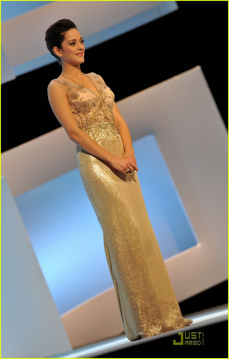 marion cotillard cesar film awards 2010 182430841
