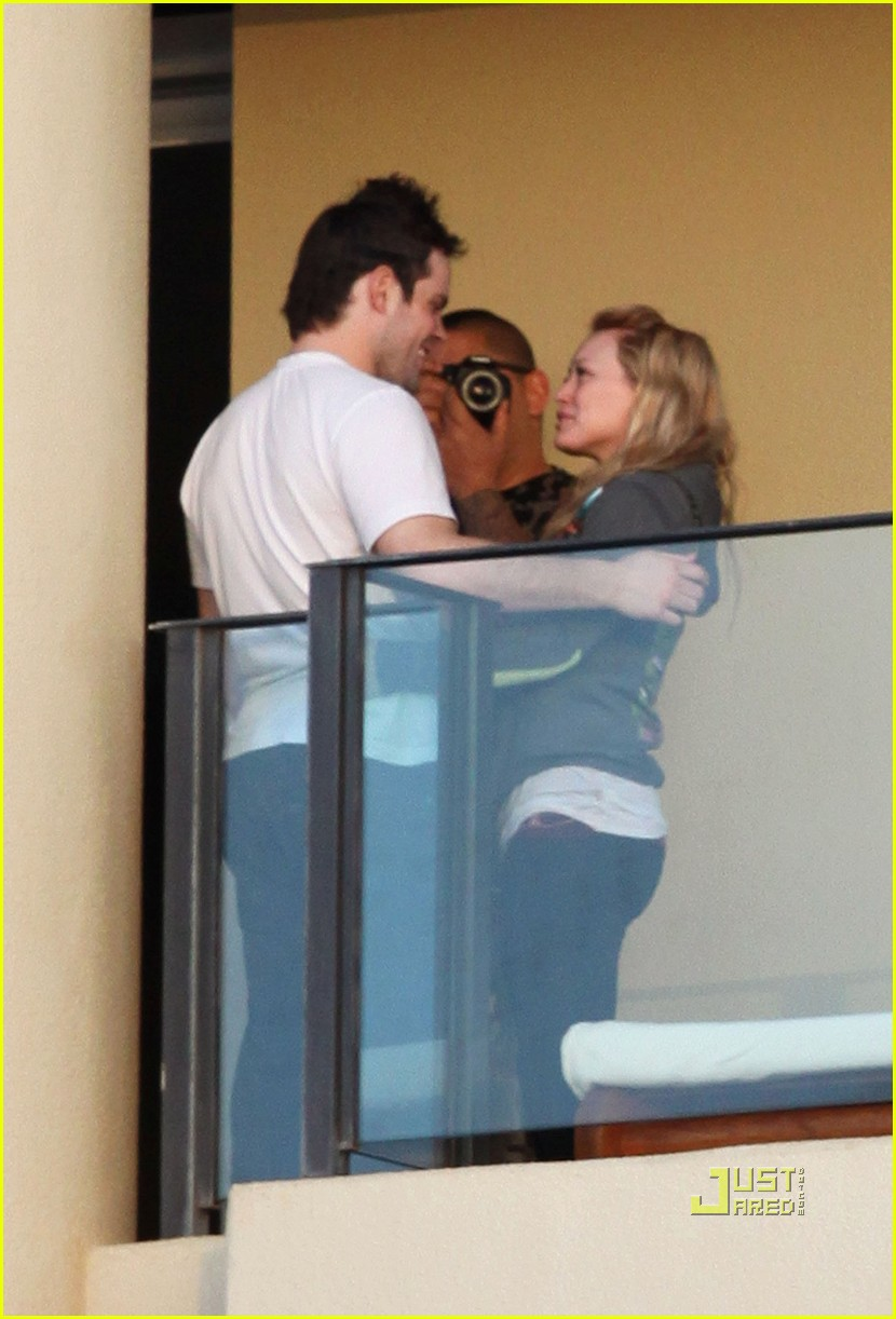 hilary duff mike comrie proposal hawaii 092429450