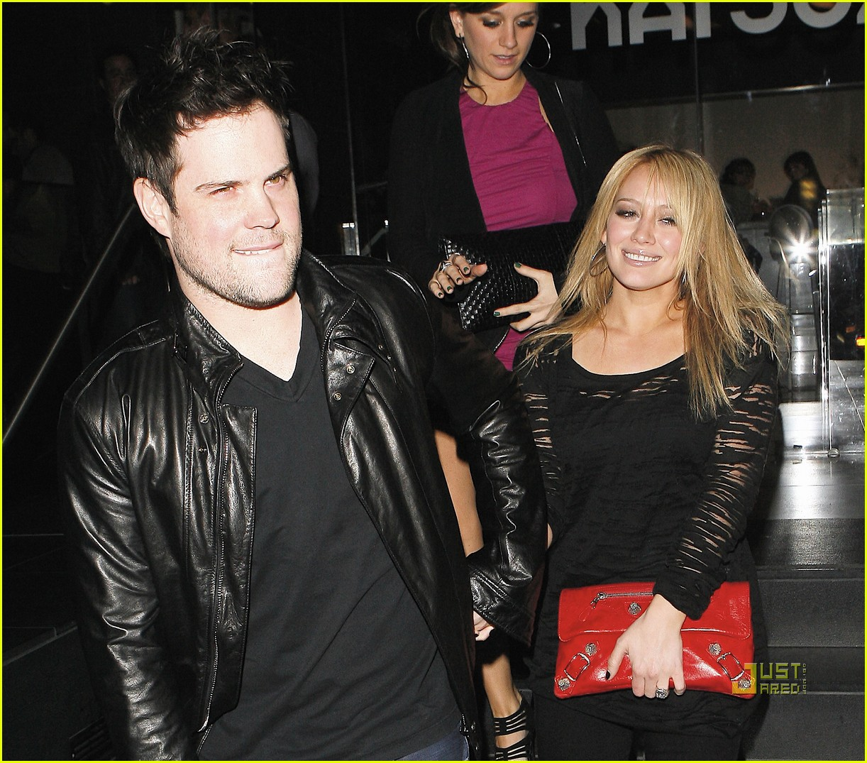 hilary duff engagement ring mike comrie 122429767