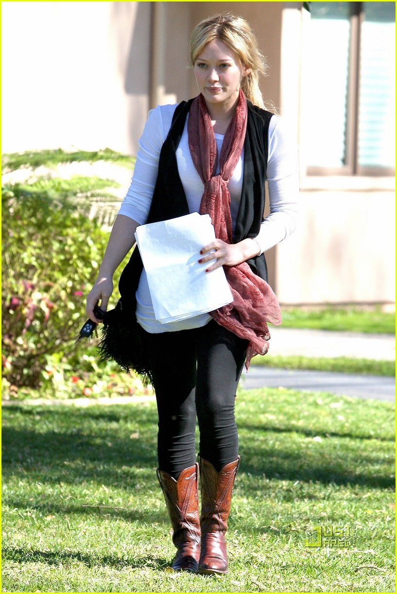 hilary duff script north hollywood 062425194