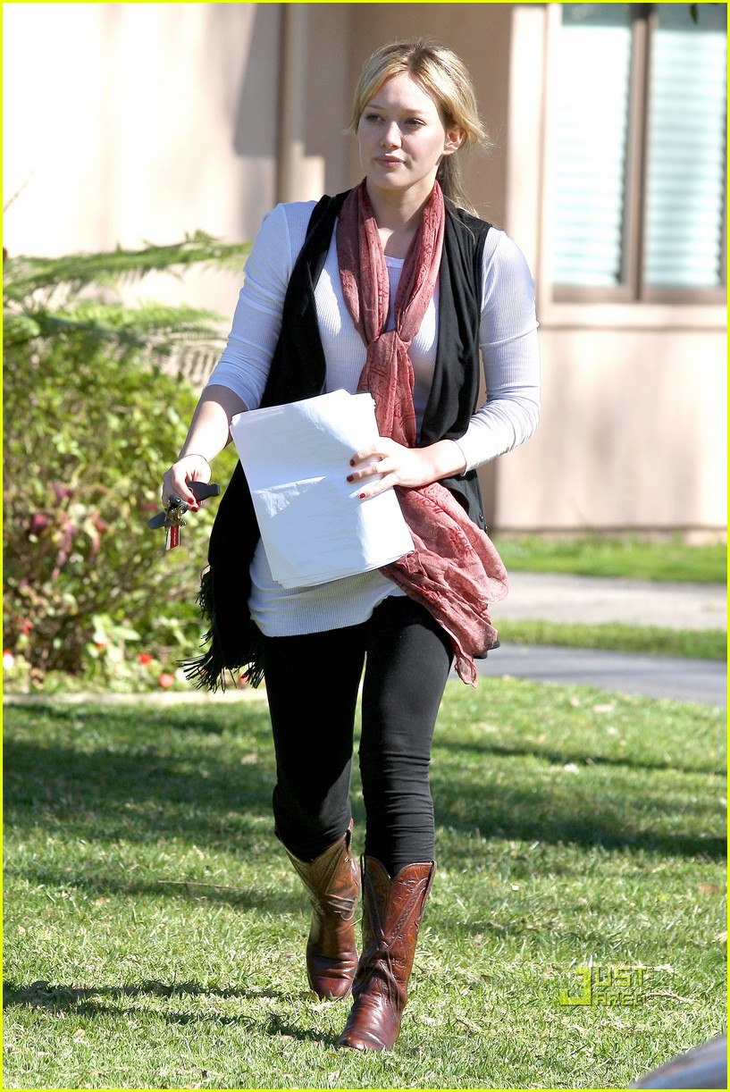 hilary duff script north hollywood 09