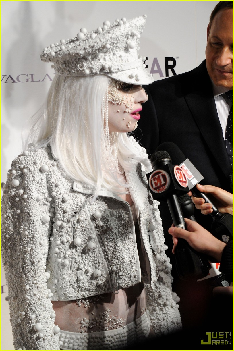 lady gaga amfar new york gala 05